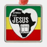 Jesús para África Ornamentos De Reyes