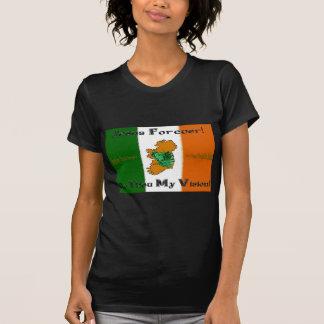 ¡Jesús para siempre! Camiseta menuda negra Camisas
