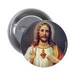 Jesus Peace Sign 2 Inch Round Button