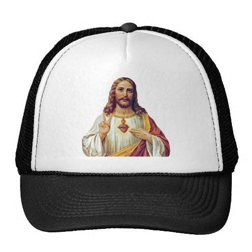 Jesus Peace Sign Trucker Hat