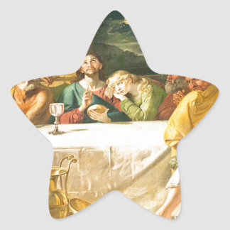 Jesús Pegatina En Forma De Estrella