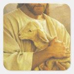 Jesús Pegatinas Cuadradas