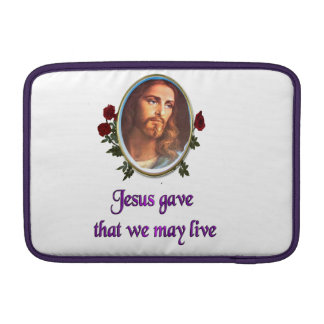 Jesús perdona fundas para macbook air