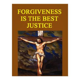 JESÚS perdona la justicia Flyer A Todo Color