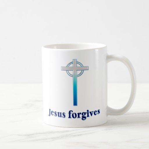 Jesús perdona taza