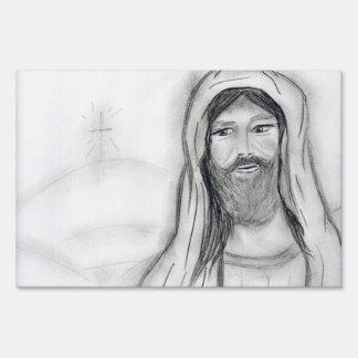 Jesús permanente carteles