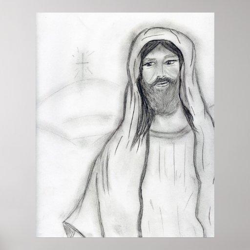 Jesús permanente póster