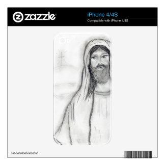 Jesús permanente skins para iPhone 4S