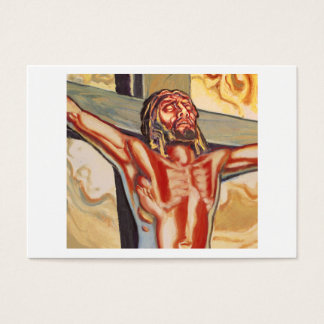 Jesus picture business card