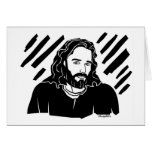 Jesus picture Christian gift Greeting Cards