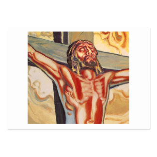 Jesus picture large business card