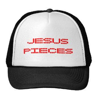 JESUS PIECES TRUCKER HAT