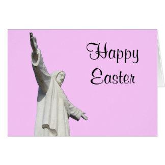 jesus pink easter greeting card
