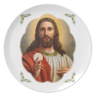 jesus party plates