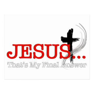 Jesus.png Postcard