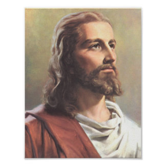 Jesus Portrait Print