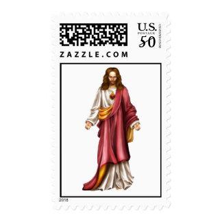 Jesus postage stamps