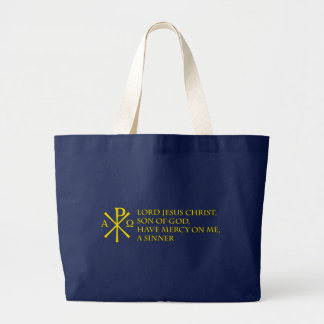 Jesus Prayer with Chi-ro Tote Bags