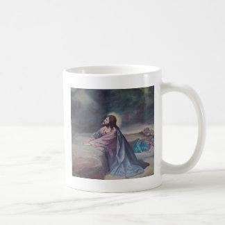 Jesus Praying at Gethsemane Coffee Mug