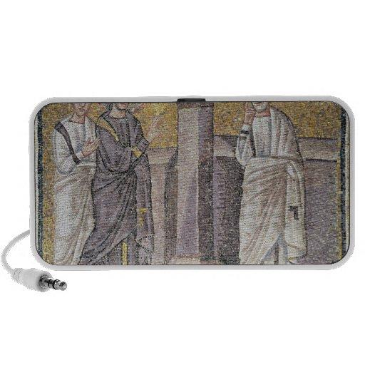Jesus Predicts Peter's Denial iPod Speakers