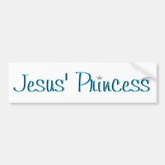 Jesús Princesa-azul Pegatina Para Auto