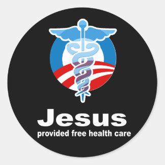 Jesús proporcionó atención sanitaria libre pegatina