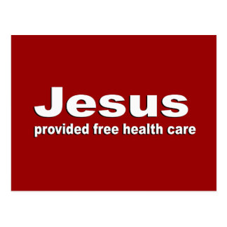 Jesús proporcionó atención sanitaria libre postales