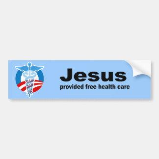 Jesus provided free healthcare bumper sticker