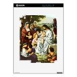 Jesús que bendice a los niños iPad 2 skins