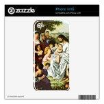 Jesús que bendice a los niños iPhone 4S skins