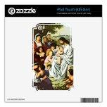 Jesús que bendice a los niños calcomanía para iPod touch 4G