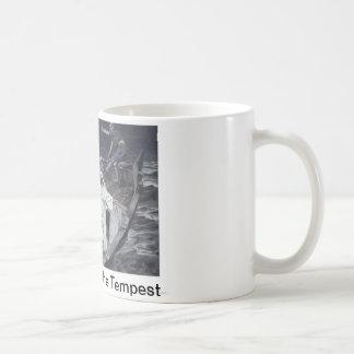 Jesús que calma la tempestad tazas de café