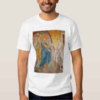 Jesús que cura a un leproso remeras