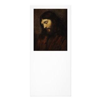 Jesús que mira hacia abajo lona