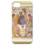 Jesús que rompe el pan con los discípulos iPhone 5 Case-Mate fundas