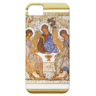 Jesús que rompe el pan con los discípulos funda para iPhone 5 barely there
