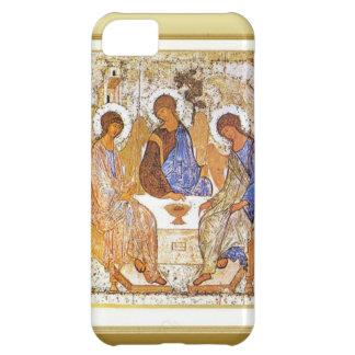 Jesús que rompe el pan con los discípulos funda para iPhone 5C