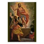 Jesús que sube de la tumba