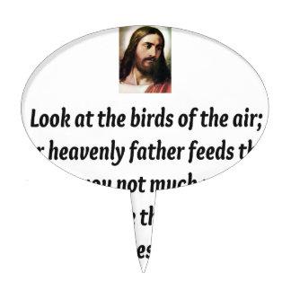 Jesus Quotes Cake Topper