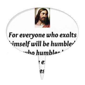 Jesus Quotes Cake Picks