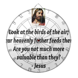 Jesus Quotes Dartboard