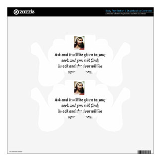 Jesus Quotes Skins For PS3 Controllers
