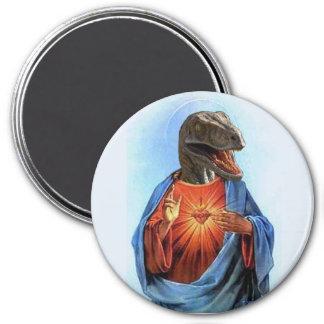 Jesus Raptor Magnet