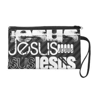Jesús; Rayas negras y gris oscuro
