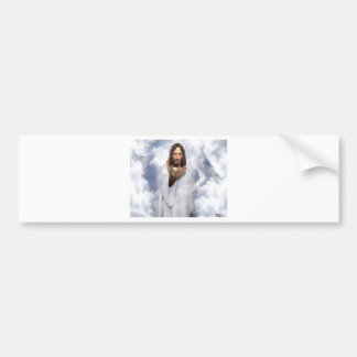 Jesus reaching out hope bumper sticker