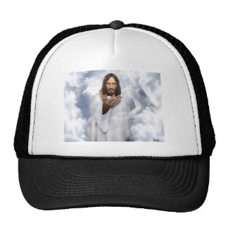 Jesus reaching out hope hat