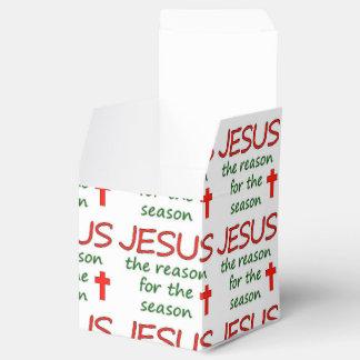 JESUS Reason for Season Favor Box