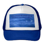 Jesus, rebuked the winds and s... hats
