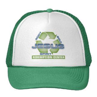Jesus Recycle Redemption Center Mesh Hat