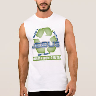 Jesus Recycle Redemption Center Sleeveless Shirt